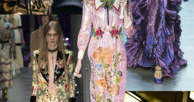 Gucci xếp vị trí thứ nhất ở sàn diễn thời trang thu đông 2017