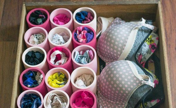 Cách lưu trữ áo lót