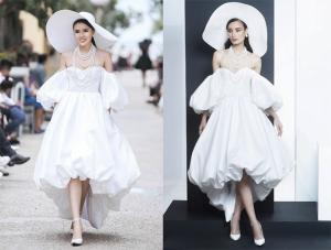 Sự đối lập giữa hai phong cách mặc cùng một chiếc váy