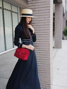 bí quyết mặc đồ đen không trông không già của Thanh Hằng