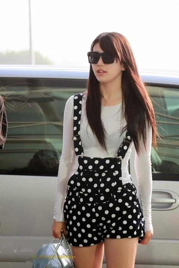 Suzy là ngôi Sao Kpop có đông đảo lượng fan và có gu ăn mặc cực thời trang