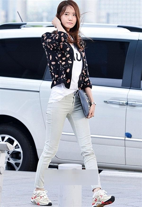 Style đường phố của cô nàng Yoona