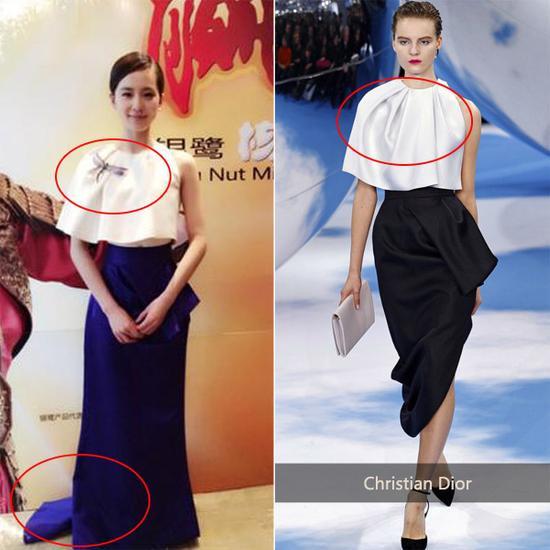 thời trang hàng hiệu, hàng hiệu nhái, mỹ nhân hoa ngữ
