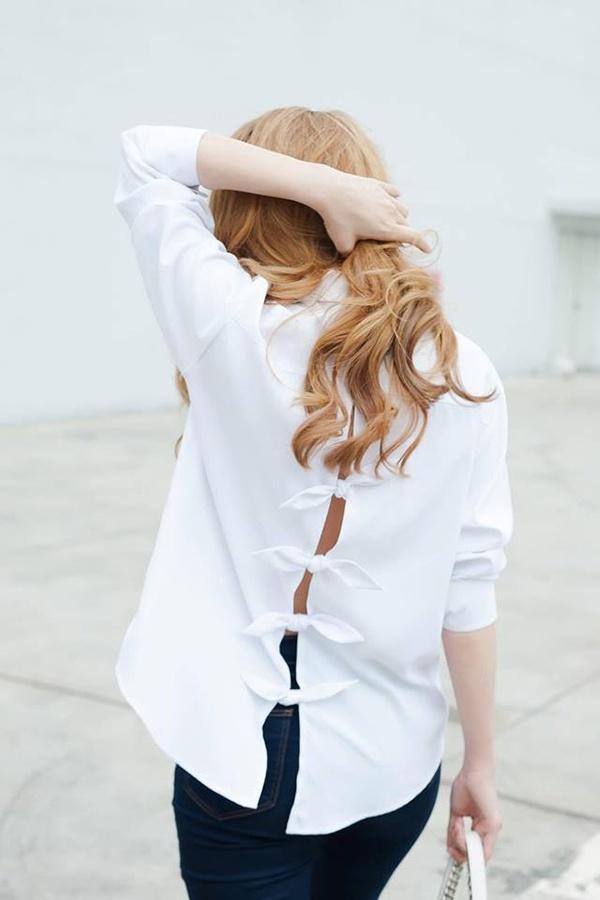 Thời trang sao, mặc đẹp như chi pu, áo hở lưng, diện áo hở lưng đẹp