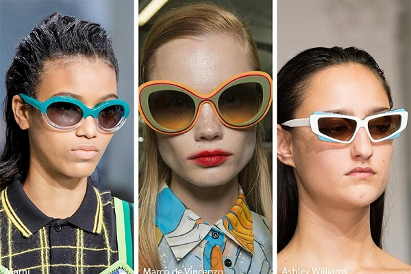 Những chiếc kính gọng nhiều màu sắc sẽ là xu hướng mắt kính đáng để bạn thử trong năm 2018
