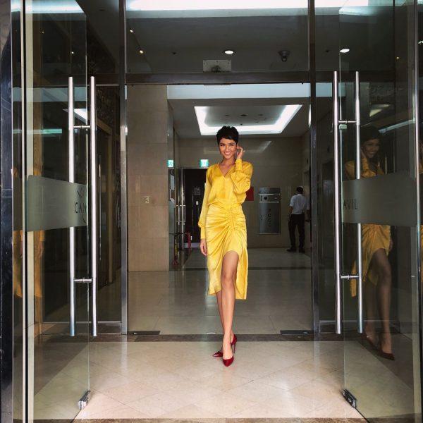 H'Hen Niê, Bảo Anh và Ái Phương cùng diện 1 chiếc váy