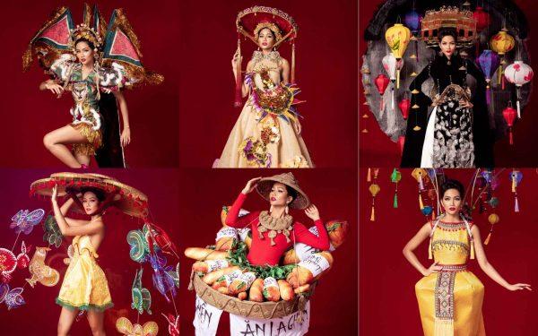 6 bộ quốc phục của hoa hậu H'Hen Niê lựa chọn thi Miss Universe