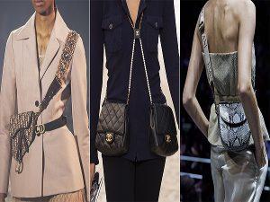 xu hướng túi xách nổi bật từ Tuần lễ thời trang 2019