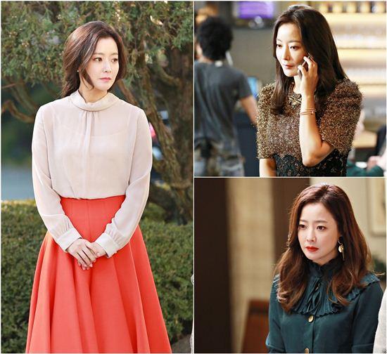 Phong cách thời trang của Kim Hee Sun trẻ trung