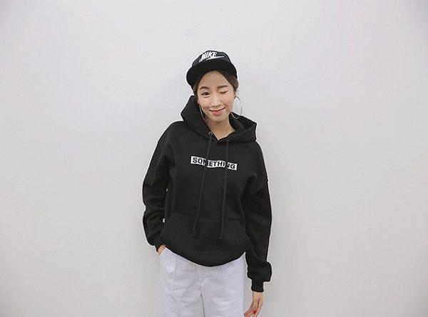 Áo hoodie- kiểu áo đẹp cho mùa Đông