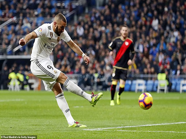 Real Madrid lọt vào top 3 La Liga