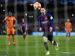 Đại tiệc 6 bàn rực rỡ với Messi