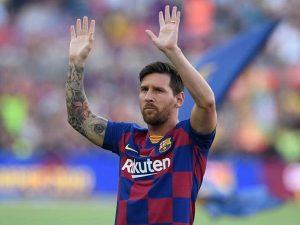 Beckham chính thức mời Messi đến chơi bóng ở Mỹ