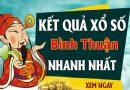 Soi cầu XS Bình Thuận chính xác thứ 5 ngày 03/12/2020