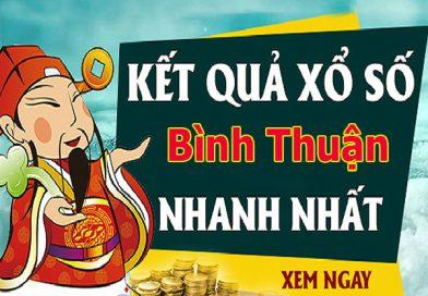 Soi cầu XS Bình Thuận chính xác thứ 5 ngày 27/02/2020