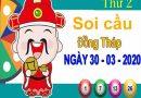 Soi cầu XSDT ngày 30/3/2020 – Soi cầu KQXS Đồng Tháp thứ 2