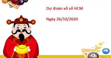 Dự đoán XSHCM 26/10/2020 – Dự đoán xổ số TP Hồ Chí Minh Thứ 2