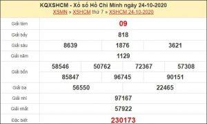 Dự đoán XSHCM 26/10/2020