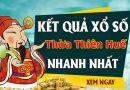 Soi cầu dự đoán XS Thừa Thiên Huế Vip ngày 19/10/2020