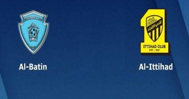 Nhận định Al-Baten vs Al Ittihad Jeddah – 19h10 31/12, VĐQG Ả Rập