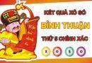 Nhận định KQXS Bình Thuận 25/2/2021 thứ 5 siêu chuẩn xác