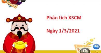 Phân tích XSCM 1/3/2021 – Phân tích  xổ số Cà Mau hôm nay thứ 2