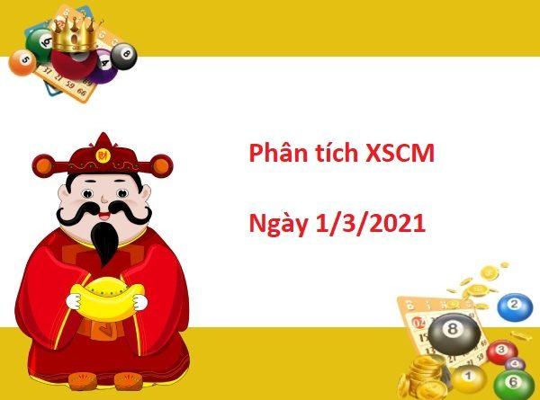 Phân tích XSCM 1/3/2021