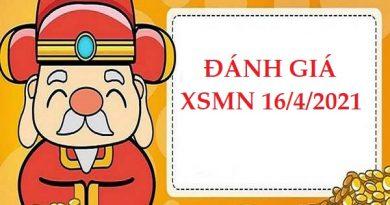 Đánh giá kết quả XSMN 16/4/2021 hôm nay