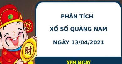 Phân tích kết quả XS Quảng Nam ngày 13/04/2021
