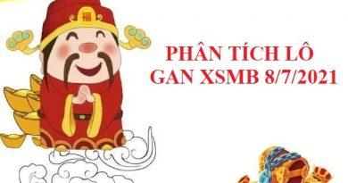 Phân tích lô gan SXMB 8/7/2021
