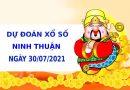 Soi cầu dự đoán xổ số Ninh Thuận 30/7/2021 chính xác