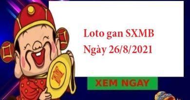 Loto gan SXMB 26/8/2021