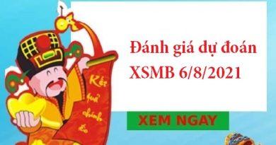 Đánh giá dự đoán XSMB 6/8/2021