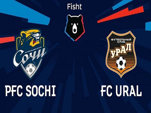 Soi kèo Sochi vs Ural – 23h00 09/08, VĐQG Nga