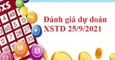 Đánh giá dự đoán XSTD 25/9/2021