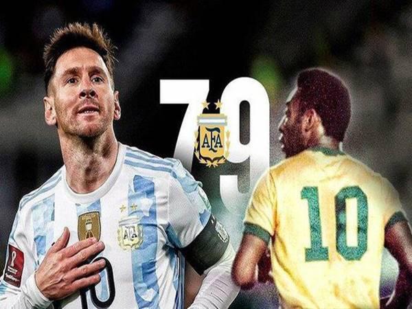 Bóng đá Quốc Tế 10/9: Messi đi vào lịch sử bóng đá Nam Mỹ